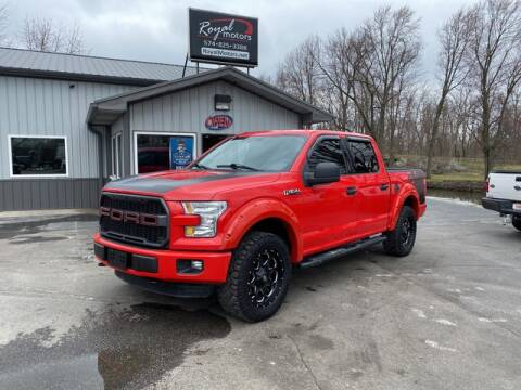 2015 Ford F-150 for sale at ROYAL MOTORS in Middlebury IN
