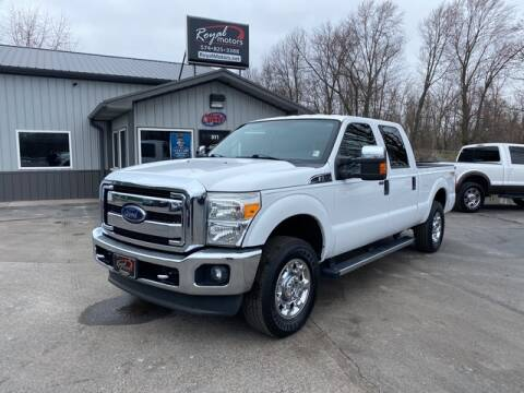 2013 Ford F-250 Super Duty for sale at ROYAL MOTORS in Middlebury IN