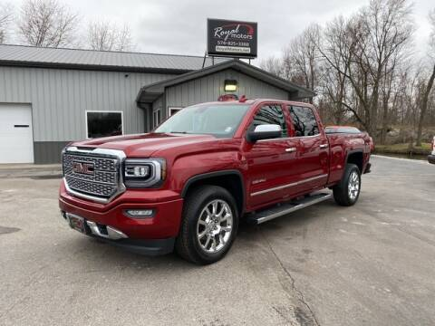 2018 GMC Sierra 1500 for sale at ROYAL MOTORS in Middlebury IN