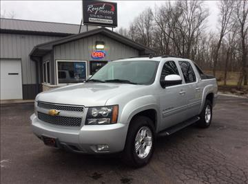 2012 Chevrolet Avalanche for sale in Middlebury, IN
