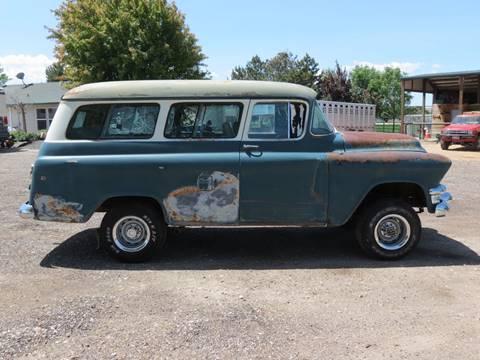 1955 Gmc Suburban Napco 4X4 In Homedale ID - Idaho Classics Cars