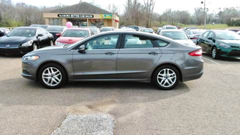 Ford Fusion For Sale In Montgomery Al