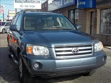 2006 Toyota Highlander for sale in Norwood, MA