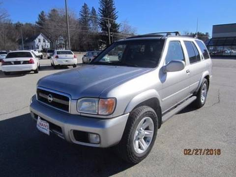 2003 Nissan Pathfinder for sale in Hillsborough, NH