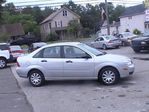 2007 Ford Focus for sale in Somersville, CT