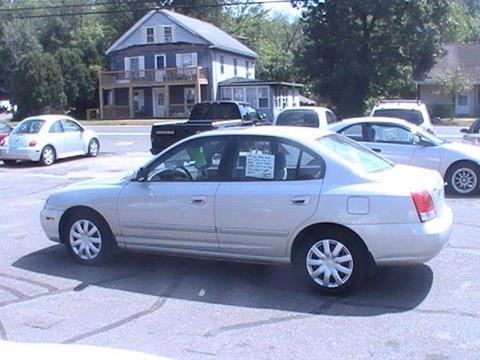 2003 Hyundai Elantra for sale in Somersville, CT