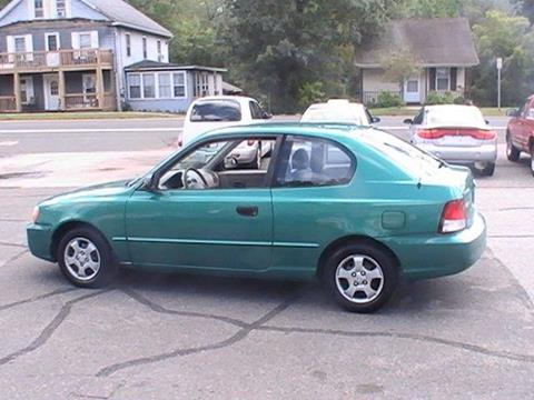 2001 Hyundai Accent for sale in Somersville, CT