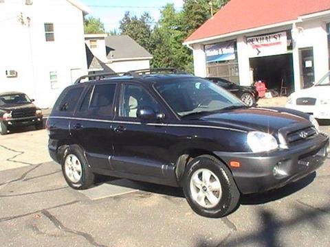 2005 Hyundai Santa Fe for sale in Somersville, CT