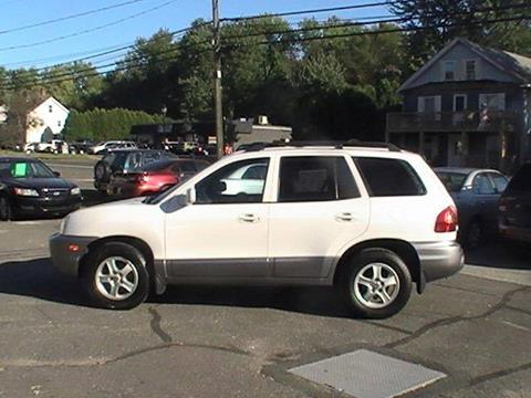 2003 Hyundai Santa Fe for sale in Somersville, CT