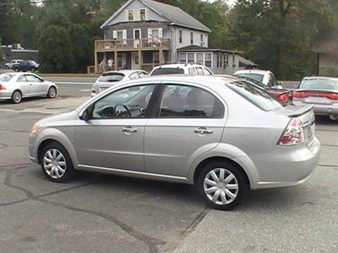 2009 Chevrolet Aveo for sale in Somersville, CT