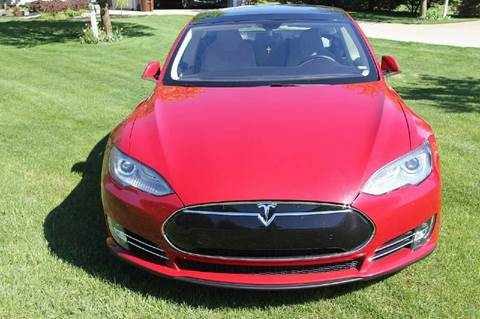 2014 Tesla Model S for sale in Somersville, CT