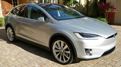 2016 Tesla Model X for sale in Somersville, CT