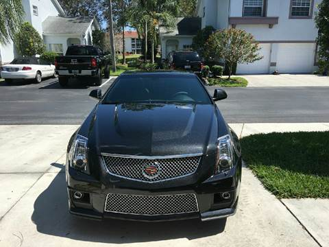 2014 Cadillac CTS-V for sale in Somersville, CT
