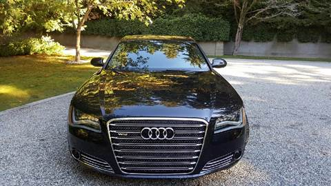 2012 Audi A8 L for sale in Somersville, CT