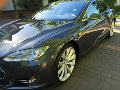 2015 Tesla Model S for sale in Somersville, CT