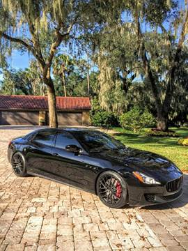 2014 Maserati Quattroporte for sale in Somersville, CT