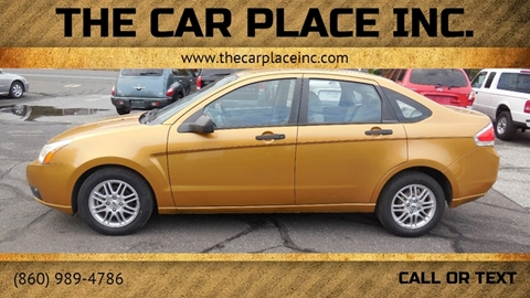 2009 Ford Focus for sale in Somersville, CT