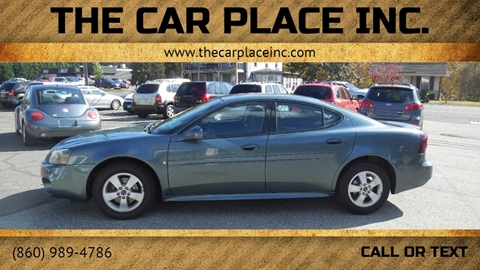 2006 Pontiac Grand Prix for sale in Somersville, CT