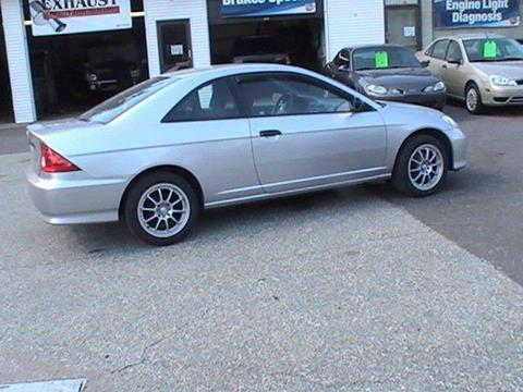 2005 Honda Civic for sale in Somersville, CT