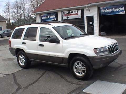 2003 Jeep Grand Cherokee for sale in Somersville, CT