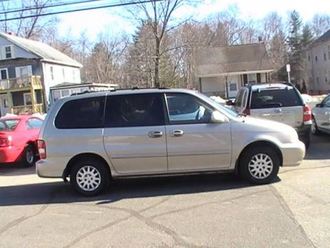 2003 Kia Sedona for sale in Somersville, CT