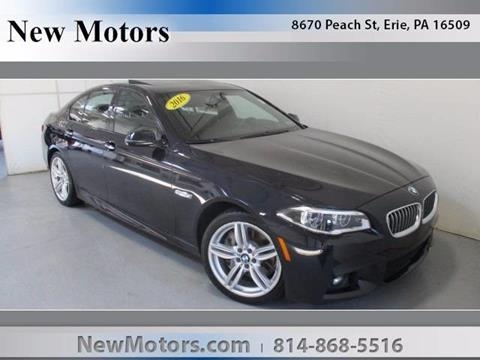 2016 BMW 5 Series for sale in Erie, PA