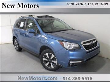 2017 Subaru Forester for sale in Erie, PA