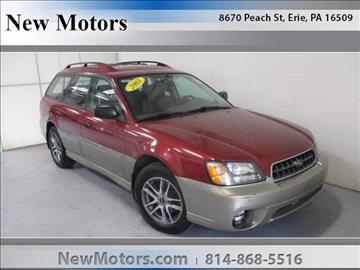 2003 Subaru Outback for sale in Erie, PA
