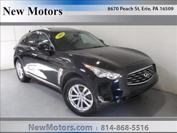 2009 Infiniti FX35 for sale in Erie, PA