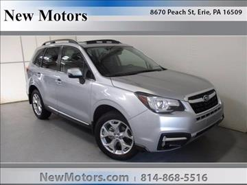 2018 Subaru Forester for sale in Erie, PA