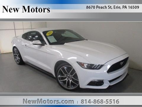 2015 Ford Mustang For Sale In Erie, PA