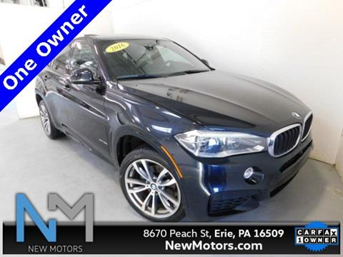 New Motors Erie Pa >> 2016 Bmw X6 For Sale In Erie Pa