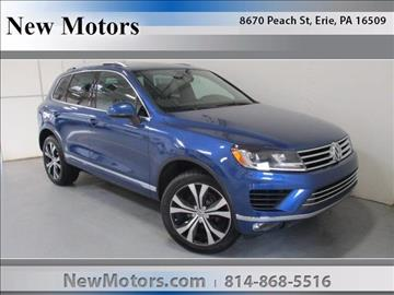 2017 Volkswagen Touareg for sale in Erie, PA