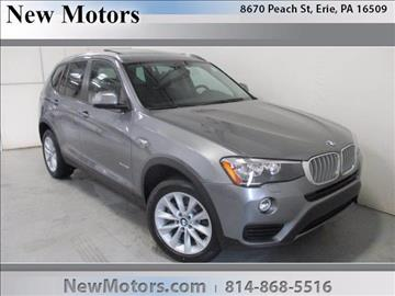 2017 BMW X3 for sale in Erie, PA