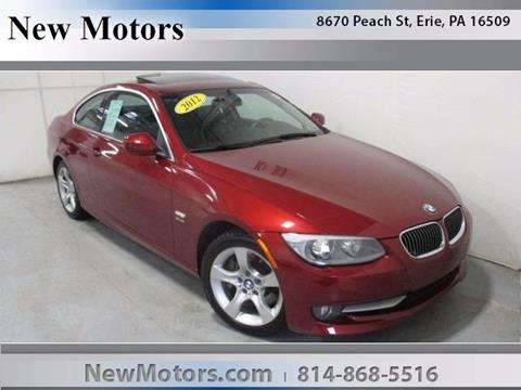 2012 BMW 3 Series for sale in Erie, PA