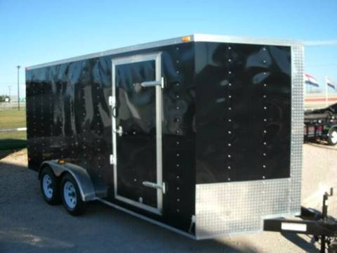 2017 Lark 7x16 Enclosed Trailer