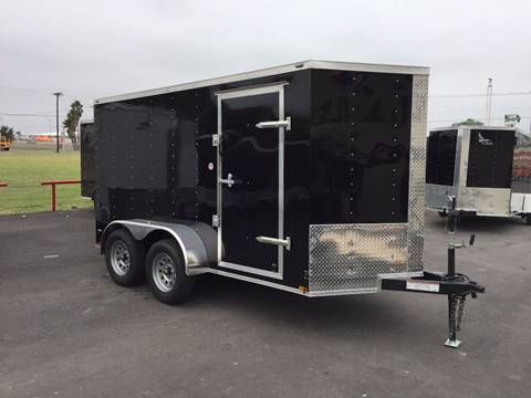 2017 Lark 6X12  Double Axle