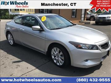 2008 Honda Accord for sale in Manchester, CT