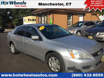 2007 Honda Accord for sale in Manchester, CT