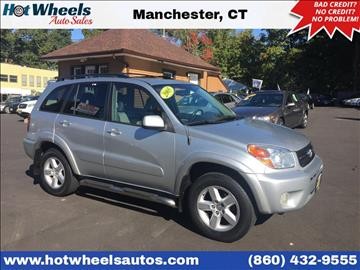 2005 Toyota RAV4 for sale in Manchester, CT