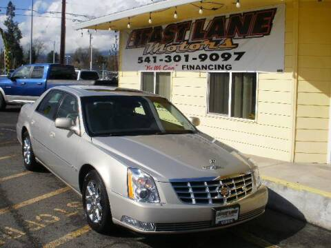 2008 Cadillac DTS Luxury III for sale at Fast Lane Motors in Medford OR
