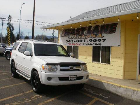 2005 Toyota Sequoia Limited for sale at Fast Lane Motors in Medford OR