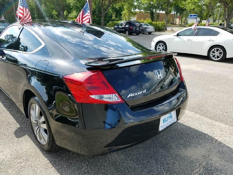 2012 Honda Accord EX-L 2dr Coupe w/Navi - Tallahassee FL
