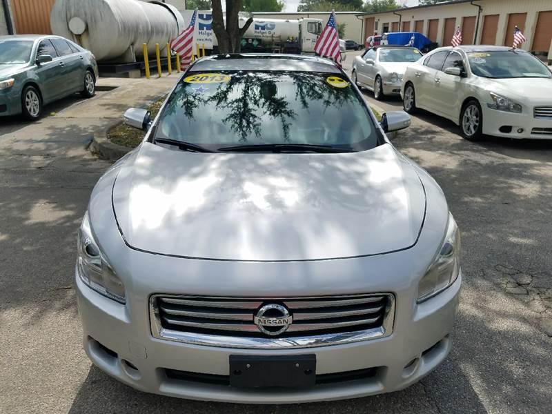 2013 Nissan Maxima 3.5 SV 4dr Sedan - Tallahassee FL