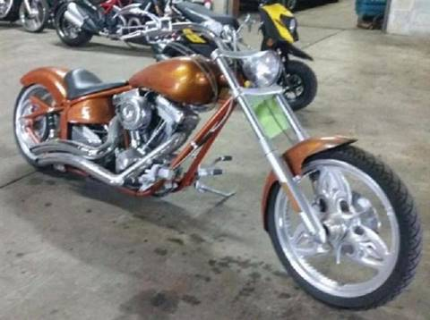 2012 Custom Chopper Soft Tail
