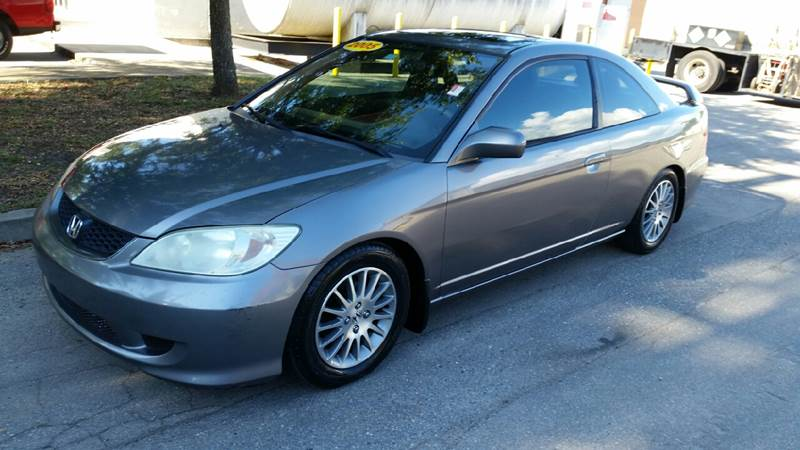 2005 Honda Civic EX Special Edition 2dr Coupe   Tallahassee FL