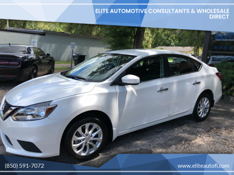 2018 Nissan Sentra for sale at Elite Automotive Consultants & Wholesale Direct in Tallahassee FL