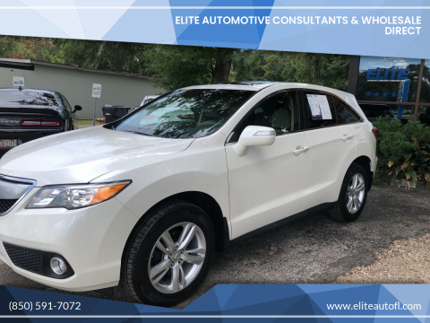 2013 Acura RDX for sale at Elite Automotive Consultants & Wholesale Direct in Tallahassee FL