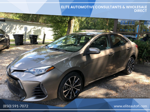 2017 Toyota Corolla for sale at Elite Automotive Consultants & Wholesale Direct in Tallahassee FL