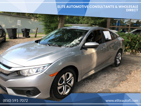 2017 Honda Civic for sale at Elite Automotive Consultants & Wholesale Direct in Tallahassee FL